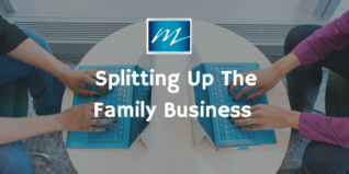 splitting family business